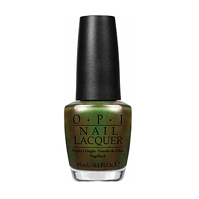 Green on the Runway OPI